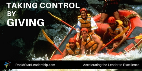 Taking Control by Giving