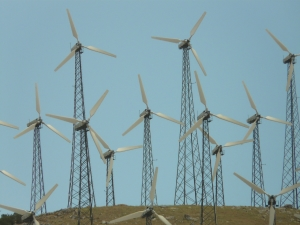 Wind turbines, a source of electrical power, similar to the several power sources of leadership