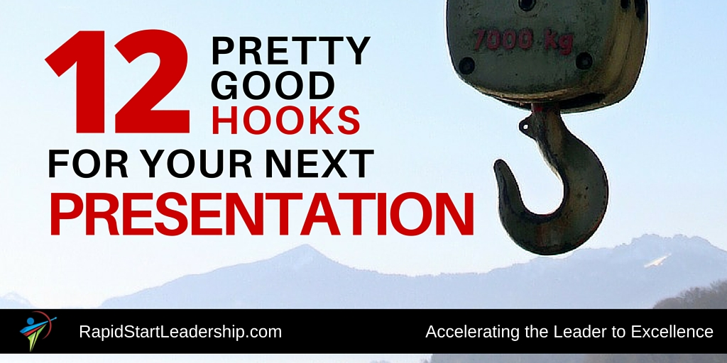 how to make a good hook for a presentation