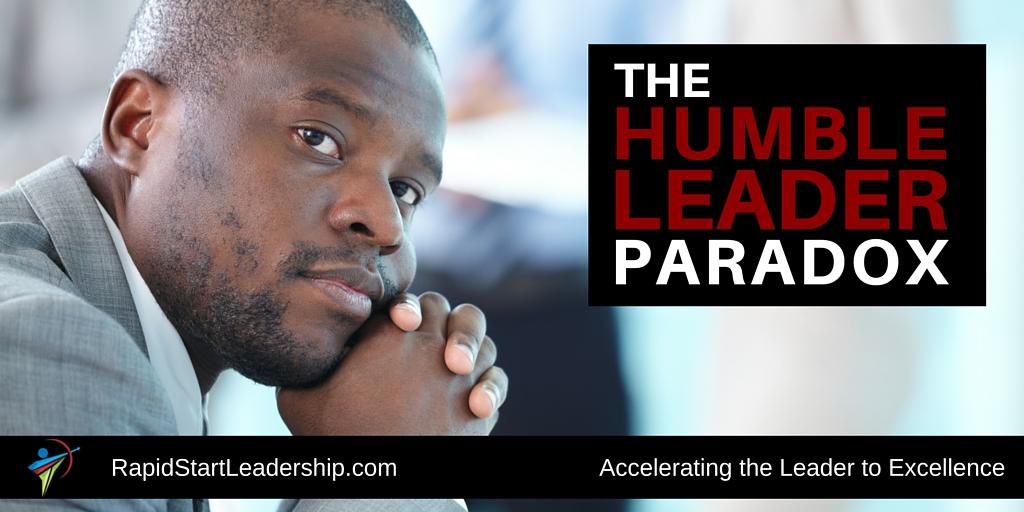 humble leader paradox