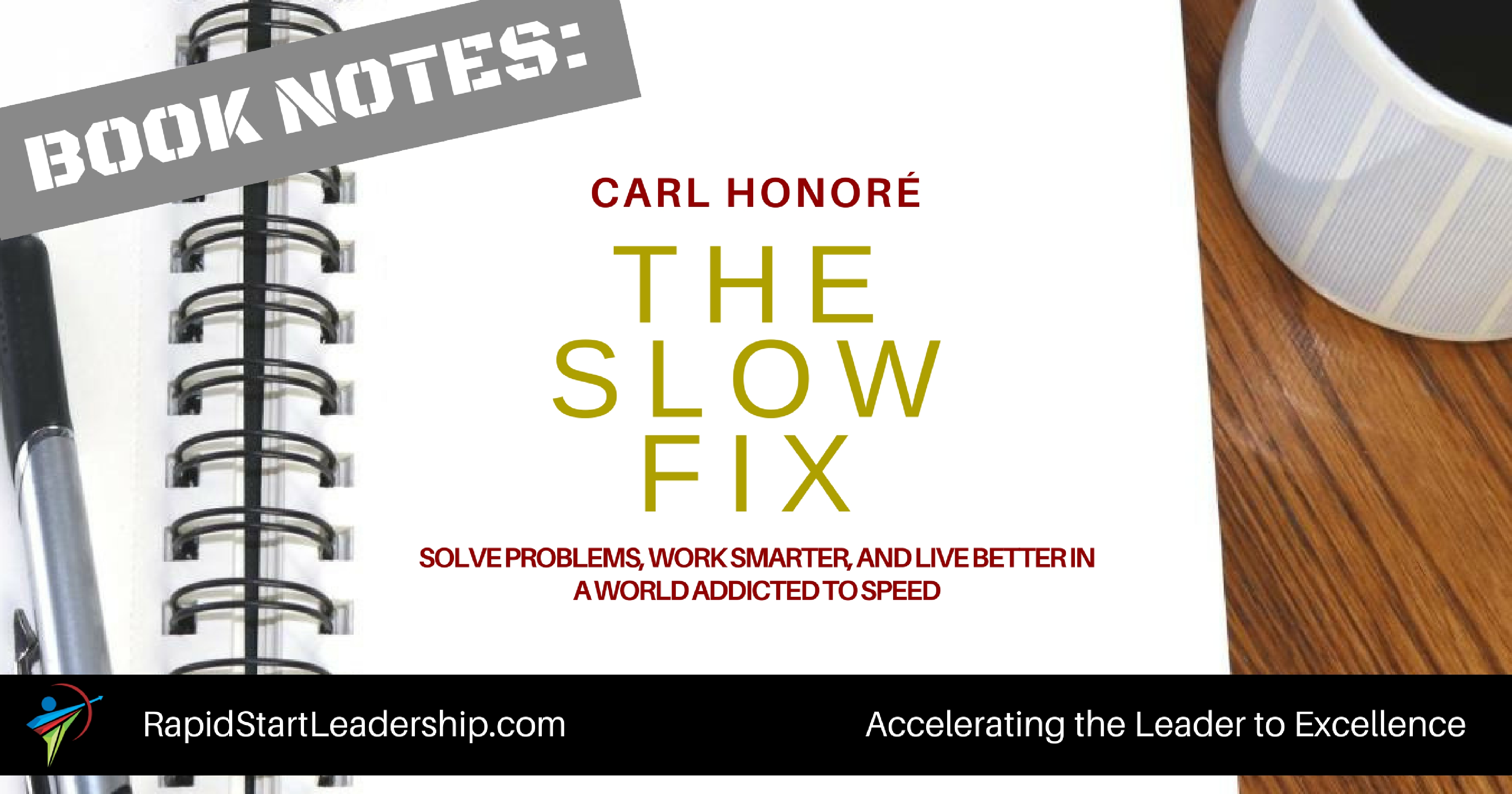 The Slow Fix - Carl Honore