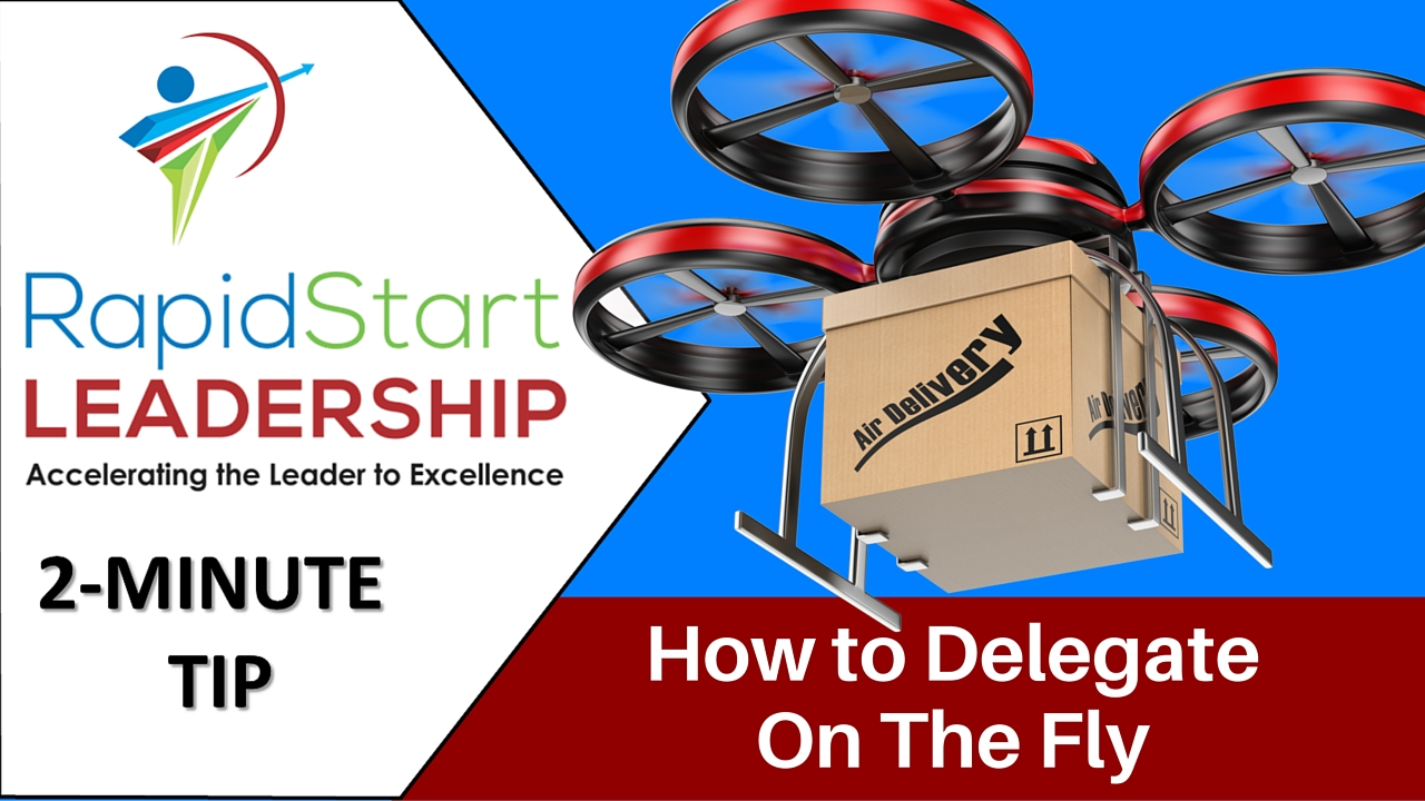Delegate on the Fly