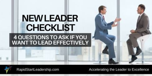 New Leader Questions