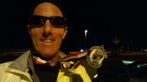 Running 50 Miles - 6 Lessons in Perseverance - the bling!