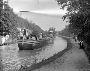 C&O Canal c. 1900-1924 Credit E.B. Thompson