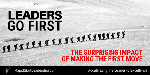 Leaders Go First - The Surprising Impact of Making the First Move