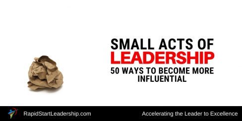 Small Acts of Leadership